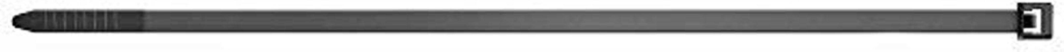 fischer Kabelbinders UBN, hoogwaardige kabelhouderset (100 stuks. 2,5 x 200 mm) van nylon polyamide, voor het bevestigen v...