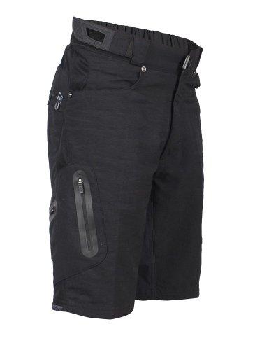 ZOIC Boy's Ether Jr. Shorts, Black, Large