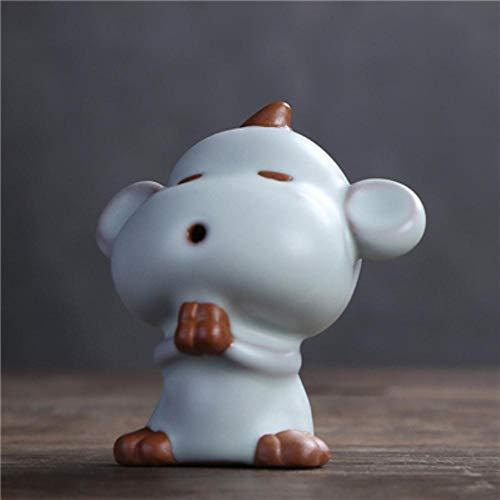 Boner Chinese dierenriem namelijk rat os tijger konijn draak slang paard geit aap haan hond varken ruyao porselein thee huisdier, aap