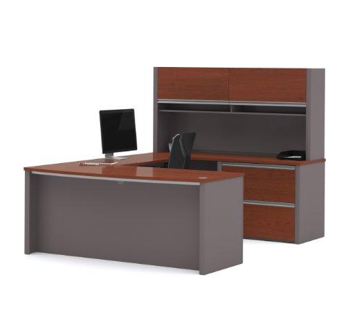 Bestar Modern U-Shaped Executive Office Desk