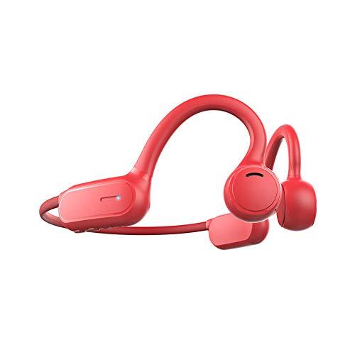 CYYMY Auriculares Bluetooth,Tecnología de Conducción Ósea, Resistente al Polvo y al Agua IPX5,Auriculares Deportivos Inalámbricos con Bluetooth 5.0, Micrófono Incorporado, Diseño Open-Ear,3