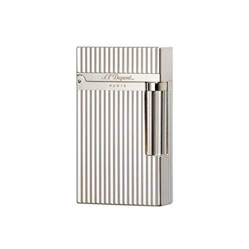 S.T. Dupont d-016817Ligne 2Lighter–Vertical Lines argento