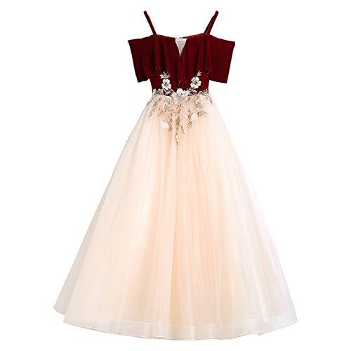 Vestido de la princesa de las chicas Pequeño vestido de anfitrión, Vestido de novia de cumpleaños, Pettiskirt, Disfraz de piano, Vestido de noche de vino rojo, Vestido de la princesa Regalos de cumple
