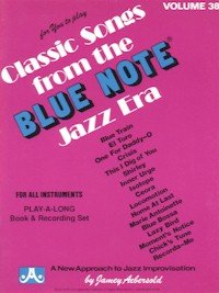 Paperback Blue Note: Play-Along Volume 38 Book