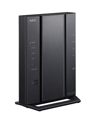 NEC Aterm WG2600HM4 無線LANルーター Wi-Fi 5 (11ac) 4ストリーム対応 (5GHz帯 / 2.4GHz帯) PA-WG2600HM4