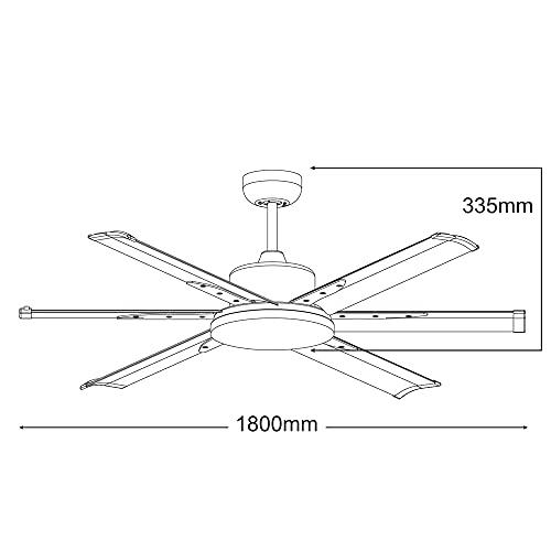 MARTEC Ventiladores de techo