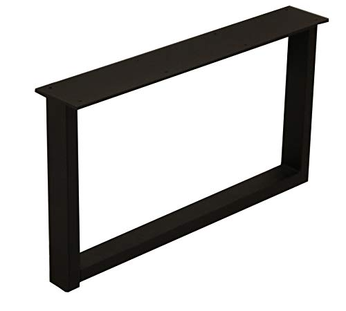 サンニード テーブル 脚 パーツ ローテーブル用レッグ 単品販売:LTLG1-BK 奥行60 高さ35cm アイアン ブラック 黒