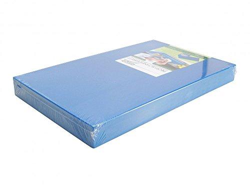 PE-Kunststoff-Schneidebrett GN 1/2 in blau 50 mm stark HACCP-Konzept Gastronorm Schneidebrett Profi-Schneidbrett Kunststoff-Schneidbrett Schneideunterlage