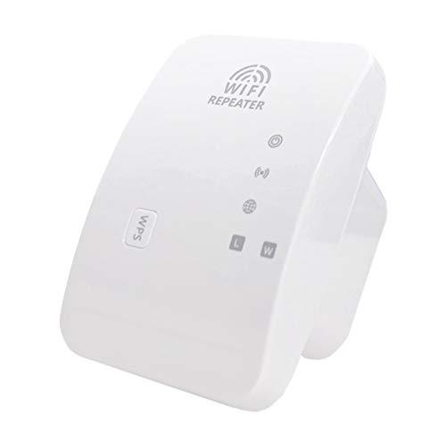 Nrpfell Repetidor InaláMbrico M-95A, Amplificador de Se?Al WiFi de 300 M, Amplificador de Red de Enrutamiento Adecuado para el Hogar (Enchufe de la UE, Blanco)