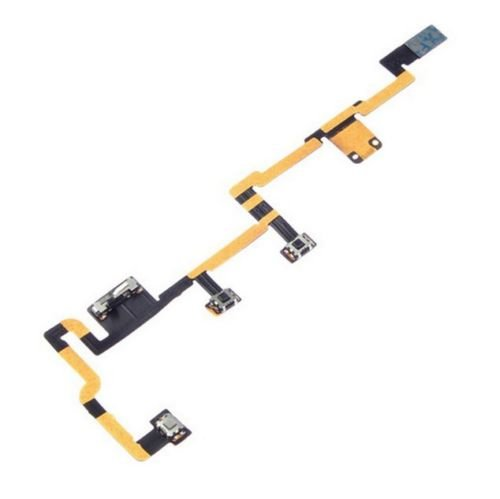 ThePerfectPart OEM Power on Off Volume Button Silent Switch Flex Cable Replacement for iPad 2