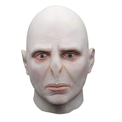 SC Movie Thema Masker Grote Baas Voldemort Hoofddeksels Latex Geschikt voor Halloween Masquerade Dress Up Cosplay Cosplay