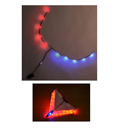 """PowerUp Night Flight Kit 4.0-15.5"""" Blue & Red LED Light Set Designed to Fly Your 4.0 Smartphone..."""