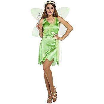 Disfraz de Hada Verde para mujer: Amazon.es: Juguetes y juegos
