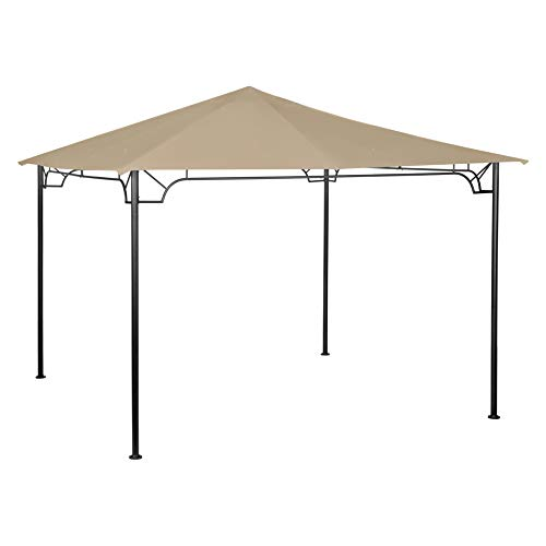 Garden Winds Replacement Canopy for Living Accents 10 Foot Gazebo - Standard 350 - Beige