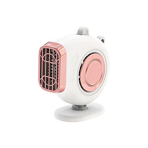 Fesjoy Ventilador Calefactor,Calentador de automóvil 3 en 1, 12V 120W Ventilador de Calentador automático Ajustable Tablero de Instrumentos del vehículo del automóvil Calentador eléctrico Ventilador
