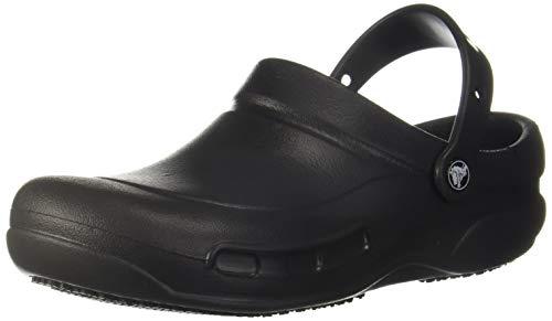 Crocs Men's Bistro Black Clogs-9 UK (43.5 EU)(10 US) (10075-001)