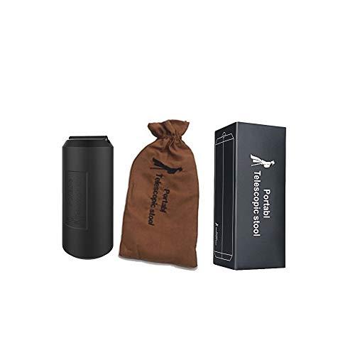 Silla telescópica Select Zone portátil plegable con soporte único, silla de bolsillo para viajes, excursiones, colas de espera