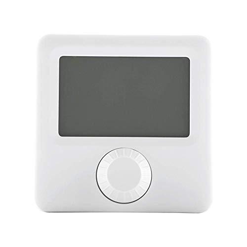 Viewsys Controlador de temperatura digital, interruptor de alta sensibilidad 5A Protección Digital Display LCD programable de calefacción del regulador de temperatura del termostato con los tornillos