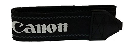 Genuine Original OEM Canon Neck Strap for Canon EOS and EOS Rebel Series DSLR Cameras – Wide Strap