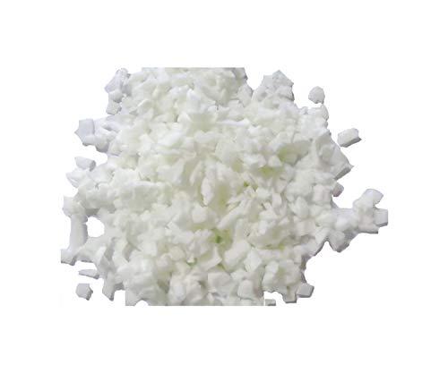 pemmiproducts Visco Schaumstoff Flocken, Weiss, 10 kg, (EUR 5,25/kg), waschbar, Viscoflocken, geeignet als Füllmaterial für z.B. Plüschtiere, Puppen, Bären, Kissen usw.