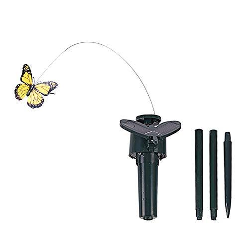 Weehey Bailando con energía Solar Mariposas revoloteando Volando Colibrí Jardín Patio Decoración