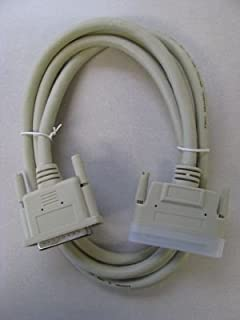 6 Ft 25-Pin DB25 Male to 68-Pin HD68 Male External SCSI Cable SCSI-HD68-DB25-06
