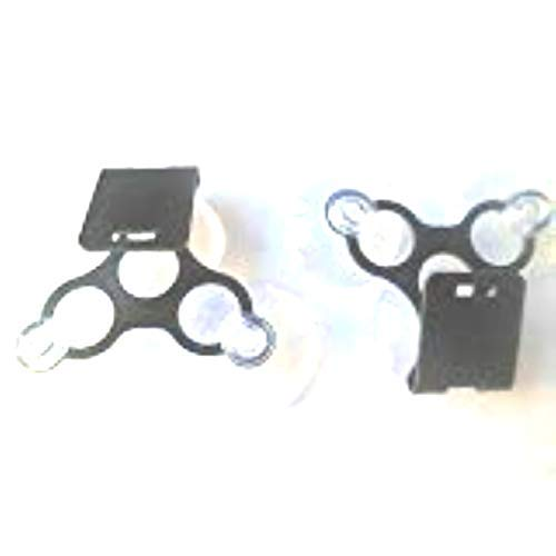 For Sale! Set of 2 Brackets for Cobra Detector Bracket W/ 3 suction Cups for Cobra XRS9300, XRS9400,...