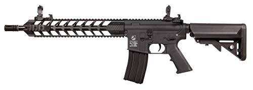 Colt M4 Airline MOD A Schwarz 180856 Cybergun Full Metall/Farbe schwarz/elektrisch (0,5 Joule), Halb-/Vollautomatik …
