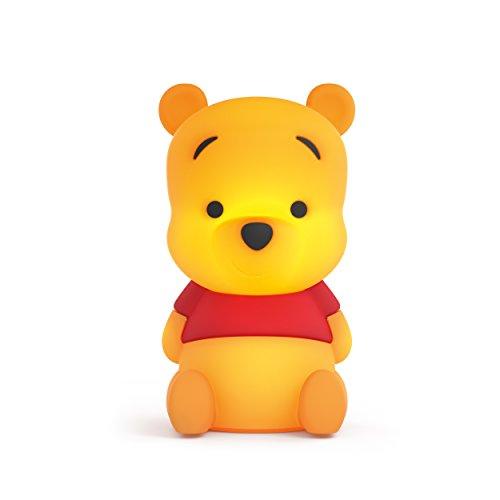 Philips Disney SoftPal Nachtlicht Winnie the Pooh, Tischlampe, 1 x 1 W, Integrierte LED, Synthetik, gelb
