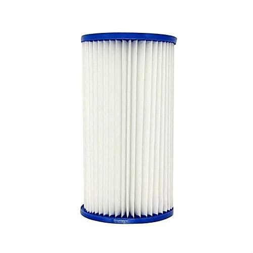 HXiaoF 70 x 27 x 125 mm elemento de filtro de piscina elemento de papel adecuado para bomba, cartuchos de repuesto universales tipo de cartucho de limpieza (color: blanco)