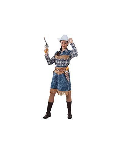 DISBACANAL Disfraz de Vaquera para Mujer - -, L