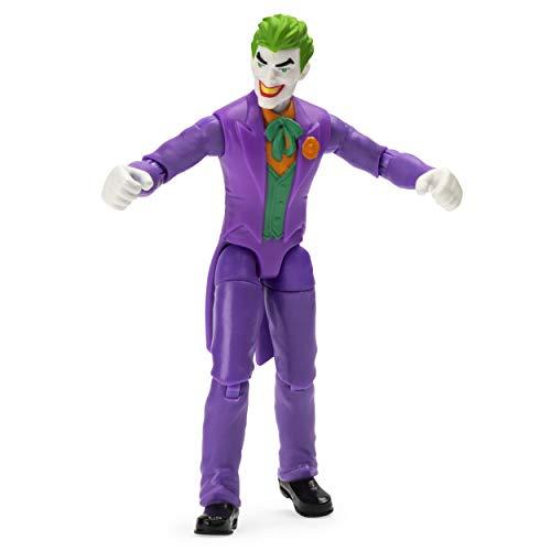 BATMAN 6056747 - Batman 10cm-Actionfigur mit Missionskarte und 3 geheimen Ausrüstungsteilen - Joker