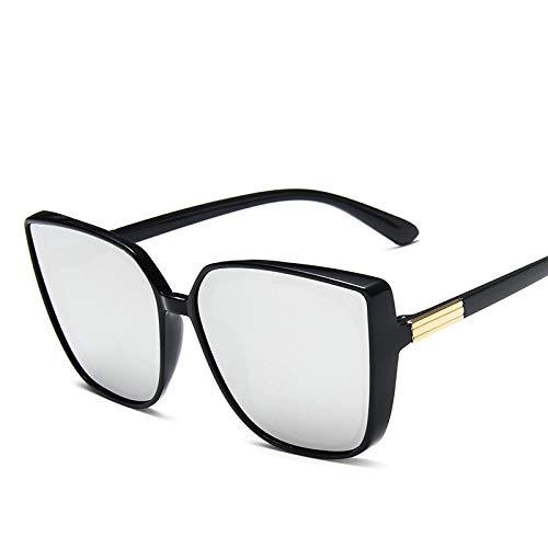 Único Gafas de Sol Sunglasses Gafas De Sol Cateye para Mujer, Gafas De Sol Retro Mujer, Gafas Cuadr