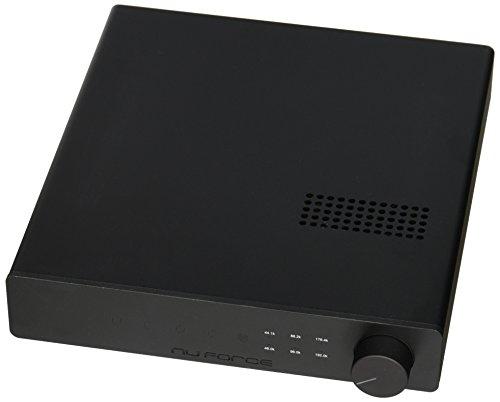 NuForce DAC-80Transformador, preamplificador y preamplificador de Auriculares de Clase A (24bit/192kHz), Negro