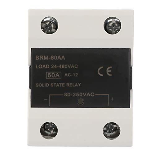 Relé de estado sólido Velocidad de conmutación rápida sin chispa 60AA / 80AA / 100AA / 120AA para semáforos semáforos(BRM-60AA)