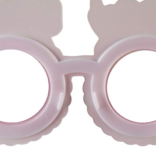 Relaxdays Happy Birthday Party Glasses, Set of 6, Funny Gag Glasses for Birthdays, For Kids & Adults, Colourful