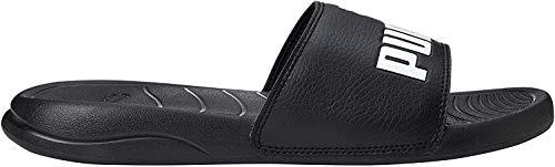 Puma Unisex-Erwachsene Popcat 20 Zapatos de Playa y Piscina, Schwarz Black White, 44.5 EU