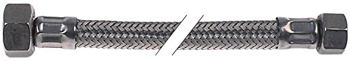 Elframo flexibele slang voor vaatwasser LP70, CW650-15, CW650-16, CW650-35 aansluiting 3/8'-1/2' 3/8'-1/2' aansluitingen recht recht recht
