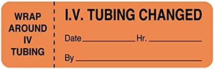 Nev'S IV Tubing Label Long-awaited Year-end gift - Changed x 15 Orange 16