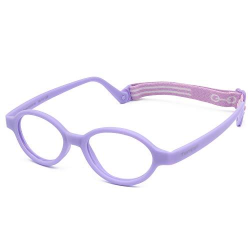 Tempo Throwback: 100214 Flexible Plastic Kids Glasses Age 2-5Yr | Lavender - 39/14