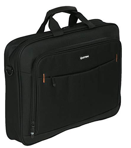 City Bag - Maletín de Estilo Ejecutivo - para portátiles y Tablets - Material de 600 Denier - 17,3 Pulgadas