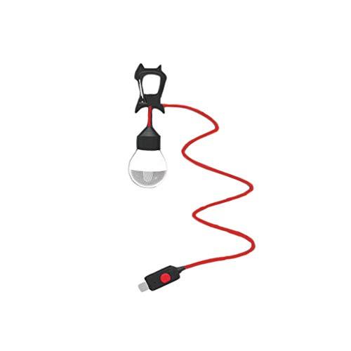 Kleine kroonluchter, voor buiten, camping, LED-licht, veelzijdig inzetbaar.