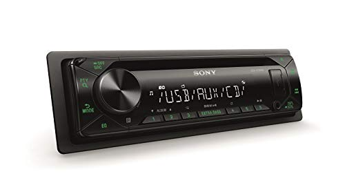 Sony CDXG1302U.EUR Autoradio (CD-Player, USB/AUX-Eingang, 4x 55 W, Extra Bass) Grün