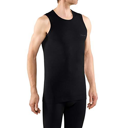 FALKE Herren Wool-Tech Light Unterhemd, Black, M