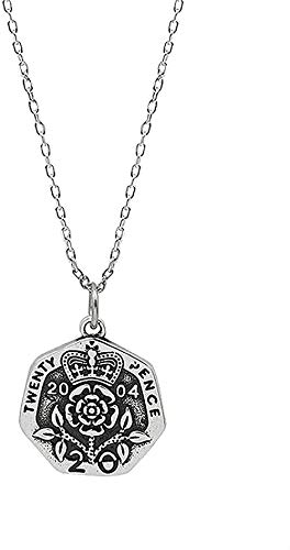 FACAIBA Necklace Necklace Women S Necklace Vintage Rose Coin Necklace Jewelry S925 Sterling Silver Personality Women S Crown Portrait Crown Chain Jewelry for Women Men Gift
