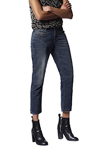 Diesel Belthy Ankle 0682K Jeans Donna (24W / 32L, Blu)