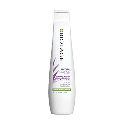 BIOLAGE Hydrasource Detangling Solution   Detangles For Less Frizz & Fly-Aways   Paraben-Free   For Dry Hair
