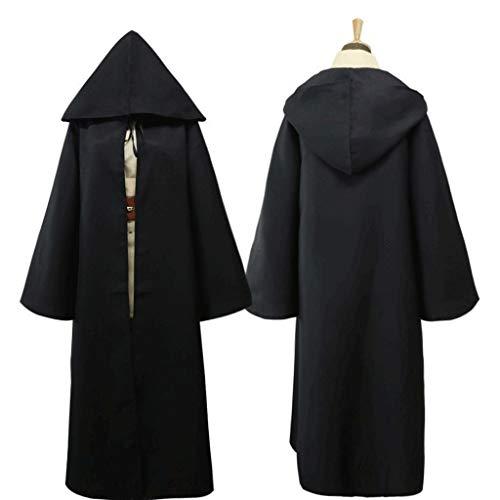 disfraces de halloween Disfraces creativa del sistema completo de la tnica con capucha del traje de Jedi Capa traje for Halloween cosplay Samurai de vestuario for hombres y mujeres Disfraz cosplay