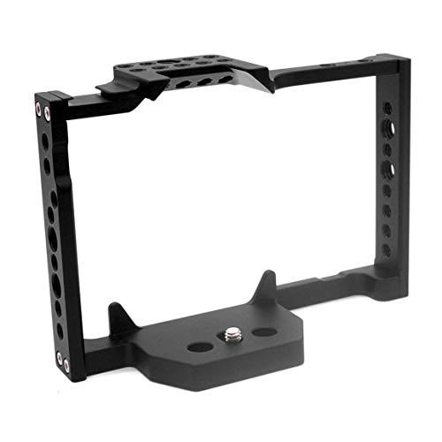 NSH Gabbia per coniglio GH5 per fotocamera Panasonic Lumix DMW-XLR1 Gabbia per fotocamera con stabilizzazione video Accessori video professionali