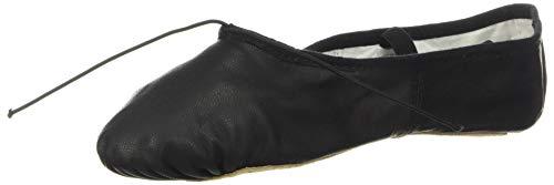 Bloch Women's Dansoft Full Sole Leather Ballet Slipper/Shoe, Black, 8.5 (C) Medium